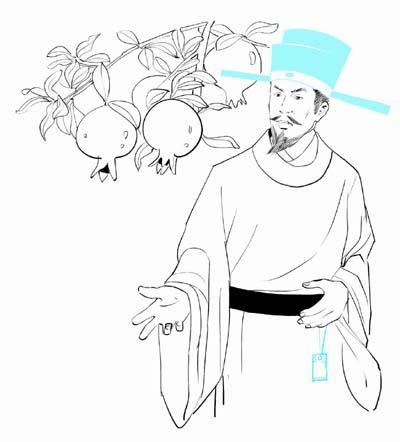 石榴树的石榴吃