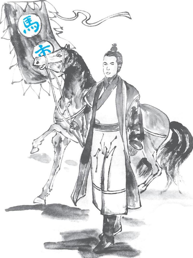 杨志卡通简笔画